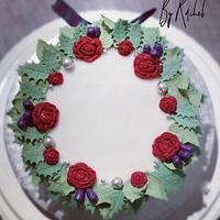 Christmas Cake 2019 by Sugar by Rachel