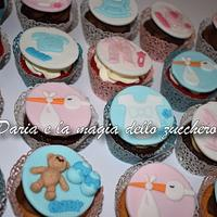 Baby cupcakes