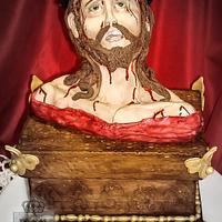 Bible Cakes Collaboration - Ecce Homo by Regina Coeli Baker