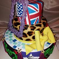 Crazy Fashion Cake
