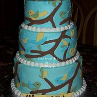 Birds & Branches by Sugar Sweet Cakes