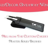 CakesDecor Giveaway 2019 #4: Winner!
