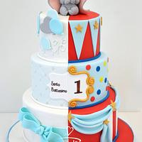 Baptism Cake - FirstBirthday Cake