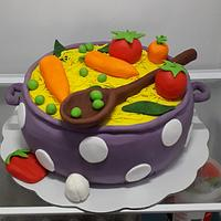 Soup cake