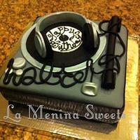 DJ cake by Cristi