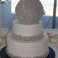 New year's wedding cake