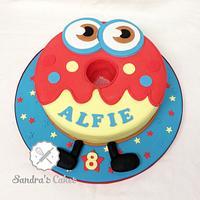 Oddie by Sandra's cakes