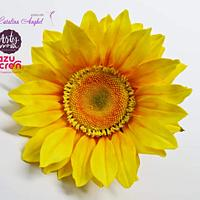 Free-formed sugar Sunflower