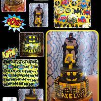 BATMAN CAKE & CUPCAKES