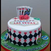 Another Vegas themed cake