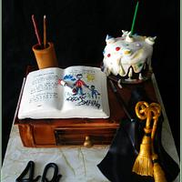 Cake for attorney from her child
