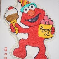 Elmo Cake,