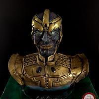 Thanos. Birthday Cake