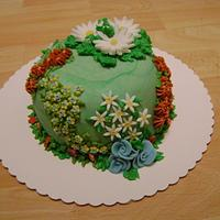 Flower Birthdaycake