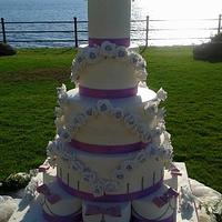 MY FIRST WEDDING CAKE MONUMENTAL