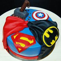 Comics cake
