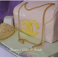 Channel Bag Cake by quennie