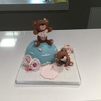 Bears topper cake