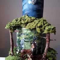 My version of a woodland cake