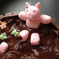 Piggy Playtime by Deborah