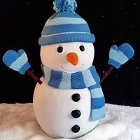 Snowman for Cake Masters