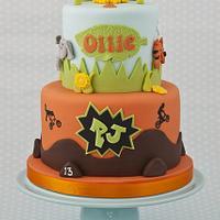 Half Animal Cake Half BMX Cake