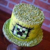 Minecraft Creeper Cake