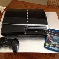 PLAYSTATION 3, Console, Control & Game