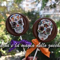 Halloween chocolollipops