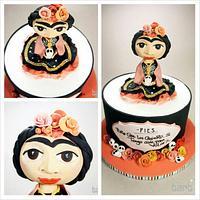 Frida Khalo Cake