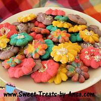 Easter Butter Spritz cookies