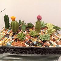 Cactus Garden Cake