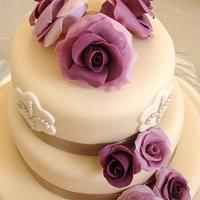Wedding Cake by Neda's Cakes