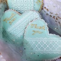 Cross stitch cookies