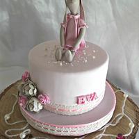 Maileg bunny cake