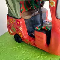 Ride of Your Life! Tuk Tuk fun!  by Dellissima Cakes