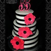 55th Anniversary Cake