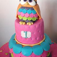 Sweet Owl 1st Birthday