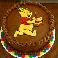 Winnie The Pooh Cake by G Sweets