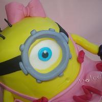 Despicable me Girl Cake :)