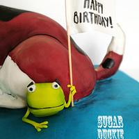 Oi Dog! Get off the frog! by Sugar Duckie (Maria McDonald)