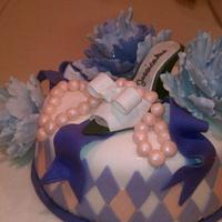 Peonies, pearls & shoes...oh my! by Jessica Chase Avila