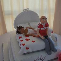 Bolo de Casamento M&J