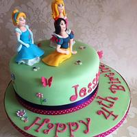 Disney Princess Cake by Carrie