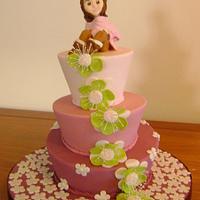 Sweet 16th cake for Anya.