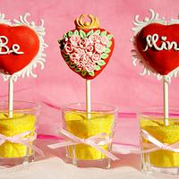 Be Mine Cakepops