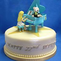Piano Cake by Pam H.