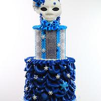 Carnival Cakers Venetian style collab