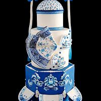 Chinese Ceramic Cake - Avant-Garde Collaboration