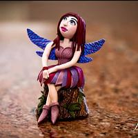 "Fairy from the Celtic Cakers collaboration ""Away with the fairies"""